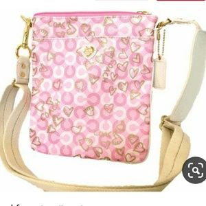 Coach Waverly Hearts Crossbody Swingpack